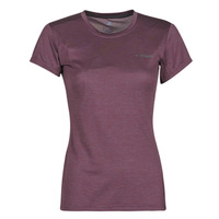 material Women short-sleeved t-shirts adidas Performance W Tivid Tee Violet