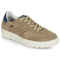 Shoes Men Low top trainers CallagHan RED Beige