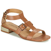 Shoes Women Sandals JB Martin HARIA Brown