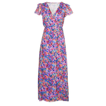 material Women Long Dresses Naf Naf ODETTE R1 Multicolour