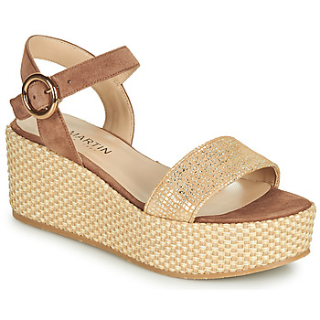 Shoes Women Sandals JB Martin 1CORSO Brown