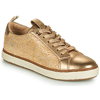 Shoes Women Low top trainers JB Martin 1INAYA Gold
