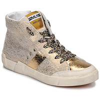Shoes Women High top trainers Meline NK1384 Gold