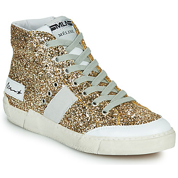Shoes Women High top trainers Meline NKC1369 Gold