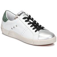Shoes Women Low top trainers Meline NKC1392 White / Green