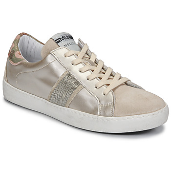 Shoes Women Low top trainers Meline KUC1414 Champagne