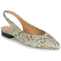 Shoes Girl Ballerinas JB Martin VELANI White / Black