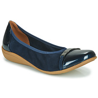 Shoes Women Ballerinas Sweet CLAMS Marine