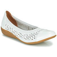 Shoes Women Ballerinas Sweet CLEZOU White
