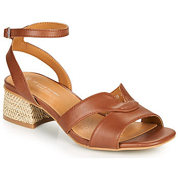 Shoes Women Sandals The Divine Factory LS1818J Camel