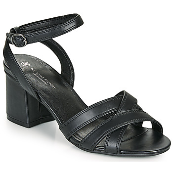 Shoes Women Sandals The Divine Factory LS2115 Black