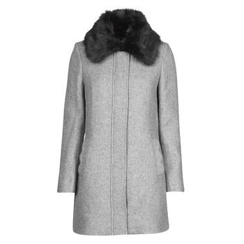 material Women coats Naf Naf AROUSSA Grey