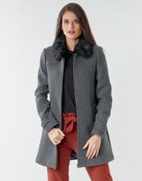 material Women coats Naf Naf AZAZOU M1 Grey