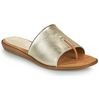 Shoes Women Flip flops Unisa ACHO Gold