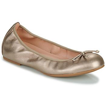 Shoes Women Ballerinas Unisa ACOR Champagne