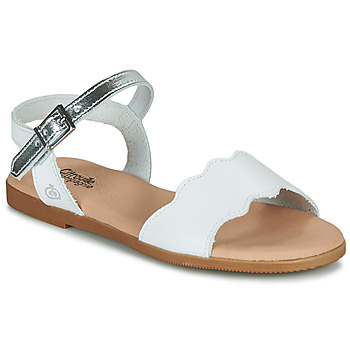 Shoes Girl Sandals Citrouille et Compagnie OBILO White