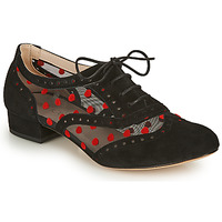 Shoes Women Brogue shoes Fericelli ABIAJE Black / Red