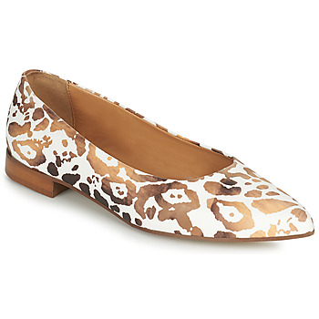 Shoes Women Ballerinas Fericelli SELENA White / Gold