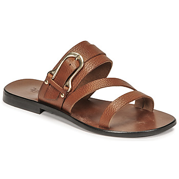 Shoes Women Sandals Fericelli STAMP Camel