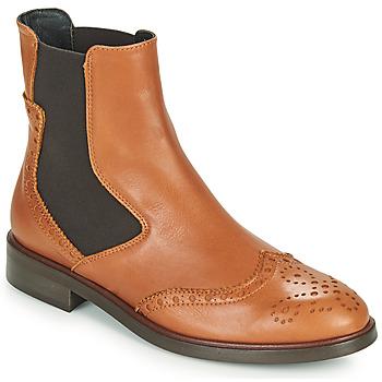 Shoes Women Mid boots Fericelli CRISTAL Camel