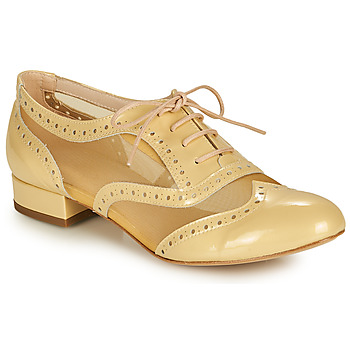 Shoes Women Brogue shoes Fericelli ABIAJE Yellow