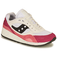 Shoes Women Low top trainers Saucony SHADOW 6000 White / Pink