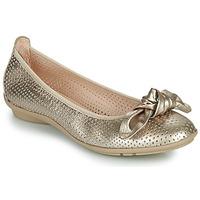 Shoes Women Ballerinas Hispanitas CAPRI Gold