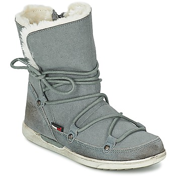 Shoes Girl Mid boots Kangaroos KANGA-BOOT 2009 Grey