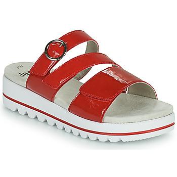 Shoes Women Mules Jana JANITA Red