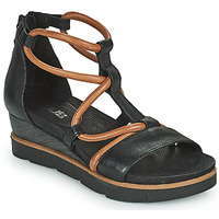 Shoes Women Sandals Mjus TAPASITA Black / Camel