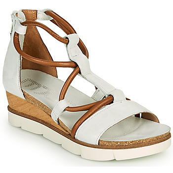 Shoes Women Sandals Mjus TAPASITA White / Camel