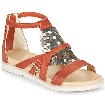 Shoes Women Sandals Mjus KETTA Brick / Silver