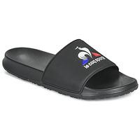 Shoes Men Sliders Le Coq Sportif SLIDE LOGO Black