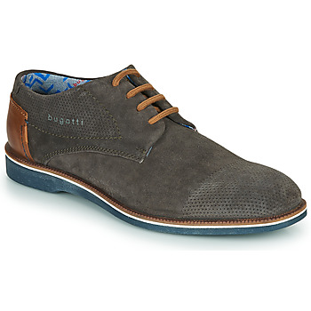 Shoes Men Derby shoes Bugatti MELCHIORE Grey / Dark