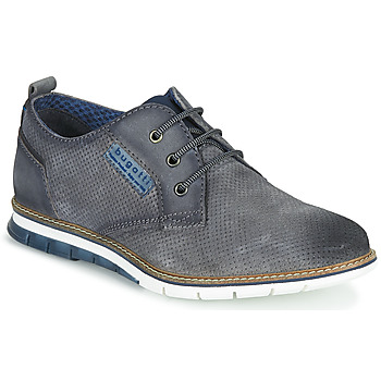 Shoes Men Low top trainers Bugatti SANDMAN Grey / Dark