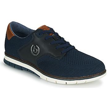 Shoes Men Low top trainers Bugatti SANDMAN Marine