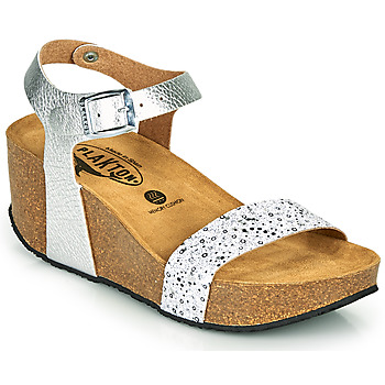 Shoes Women Sandals Plakton SO KISS Silver