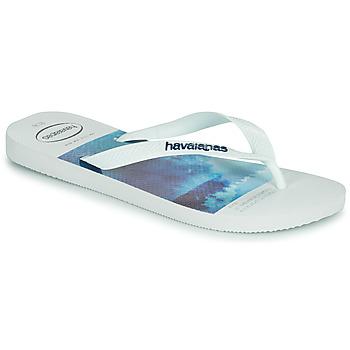 Shoes Men Flip flops Havaianas HYPE White / Blue