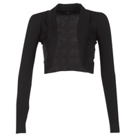 material Women Jackets / Cardigans Morgan MOLU Black