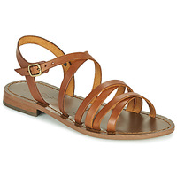 Shoes Women Sandals Dream in Green OBELLA Tan