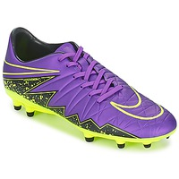 Shoes Men Football shoes Nike HYPERVENOM PHELON II FG Violet