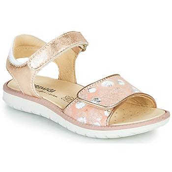 Shoes Girl Sandals Primigi MINA Pink