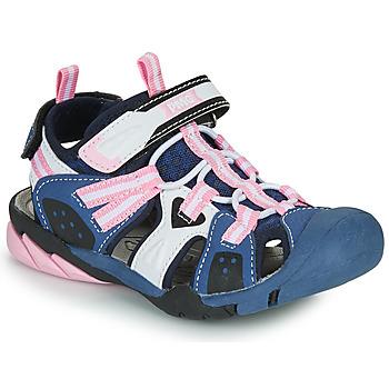 Shoes Girl Sports sandals Primigi CAMMI Marine / Pink