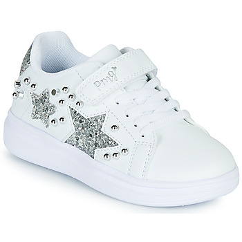 Shoes Girl Low top trainers Primigi NOLLA White / Silver