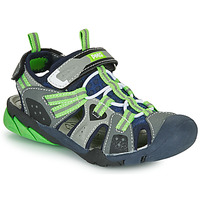 Shoes Boy Sports sandals Primigi ANATI Grey / Green
