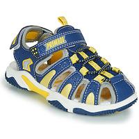Shoes Boy Sports sandals Primigi ISMAEL Blue / Yellow