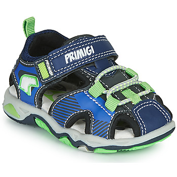 Shoes Boy Sports sandals Primigi DINNO Blue / Green