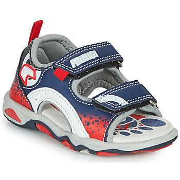 Shoes Boy Sandals Primigi FRANG Marine / Red