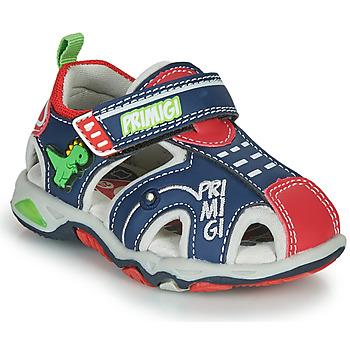 Shoes Boy Sports sandals Primigi ANIS Blue / Red / Green