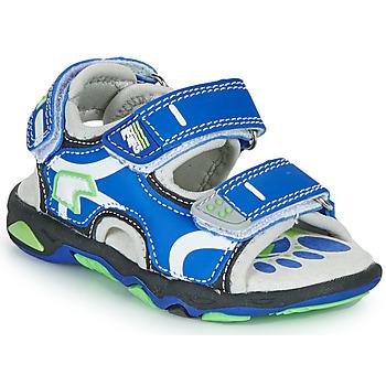 Shoes Boy Sandals Primigi YANIS Blue / Green